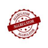Illustration de timbre d'Aggregator Image stock