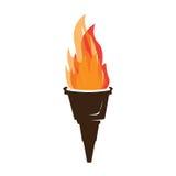 Illustration de torche Image libre de droits