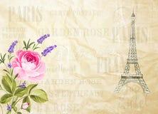 Illustration de Tour Eiffel Photo libre de droits
