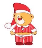Illustration de Toy Bear Cub bourré le chef heureux de crabots mignons effrontés de personnage de dessin animé de fond a isolé le Image stock