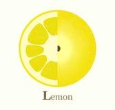 Illustration de trame de citron Photos libres de droits