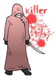Illustration de tueur illustration libre de droits