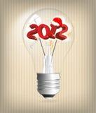 illustration de vacances de 2012 ans Photos libres de droits