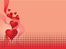 Illustration de Valentine Photos stock