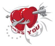 Illustration de Valentine illustration libre de droits