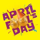 Illustration de vecteur à April Fools Day Photographie stock libre de droits