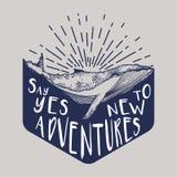 Illustration de vecteur avec la baleine Images libres de droits