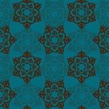 Illustration de vecteur avec les ornements baroques dedans Image stock