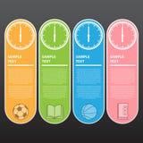 Illustration de vecteur, bannière moderne pour la conception et travail créatif Image stock