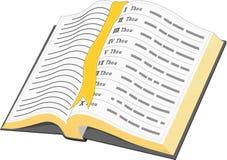 Illustration de vecteur de bible illustration stock