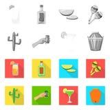Illustration de vecteur de café et de symbole latin Placez du café et du symbole boursier national pour le Web illustration de vecteur