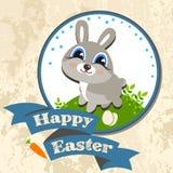 Illustration de vecteur de calibre de chasse à oeufs de lapin de Pâques Photo libre de droits