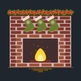 Illustration de vecteur de cheminée illustration stock