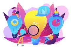 Illustration de vecteur de concept de solution d'affaires illustration stock
