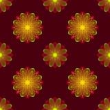 Illustration de vecteur d'élément de conception florale Images libres de droits