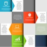 Illustration de vecteur d'éléments de conception d'INFOGRAPHICS illustration stock
