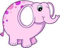 Illustration de vecteur d'éléphant Image libre de droits