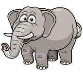 Éléphant de bande dessinée Photos libres de droits