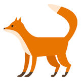 Illustration de vecteur d'animal sauvage de Fox Illustration de Vecteur
