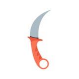Illustration de vecteur d'arme de couteau Photos stock
