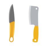 Illustration de vecteur d'arme de couteaux Photos stock