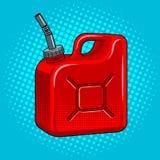 Illustration de vecteur d'art de bruit de jerrycan d'essence Photo libre de droits
