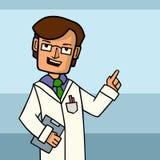 Illustration de vecteur d'homme de docteur Photographie stock
