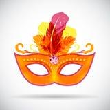 Illustration de vecteur d'icône de masque de carnaval de mascarade illustration stock
