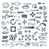 Illustration de vecteur d'icône de Web de flèche Image stock