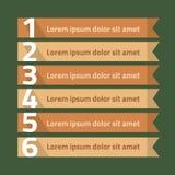 Illustration de vecteur d'infographics Image libre de droits