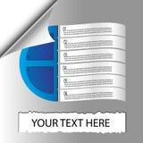 Illustration de vecteur d'Infographics de papiers. Photos libres de droits