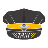 Illustration de vecteur d'insigne de taxi Images stock