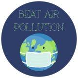 Illustration de vecteur d'un autocollant pour le jour d'environnement du monde illustration stock