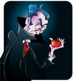 Illustration de vecteur d'un vamire de bande dessinée Image libre de droits