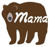 Illustration de vecteur d'une maman Bear illustration stock