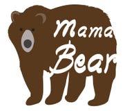 Illustration de vecteur d'une maman Bear illustration libre de droits