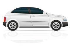 Illustration de vecteur de berline avec hayon arrière de voiture Photographie stock libre de droits