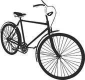Illustration de vecteur de bicyclette Photographie stock libre de droits