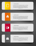 Illustration de vecteur de calibre d'affaires d'Infographic Photographie stock
