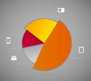 Illustration de vecteur de calibre d'affaires d'Infographic Photographie stock libre de droits