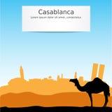 Illustration de vecteur de Casablanca illustration libre de droits