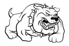 Illustration de vecteur de chien de Taureau Photos stock