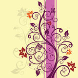 Illustration de vecteur de conception florale Illustration Libre de Droits