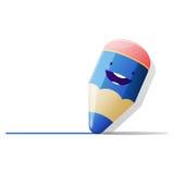 Illustration de vecteur de crayon Images libres de droits