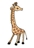 Illustration de vecteur de giraffe Images stock