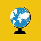 Illustration de vecteur de globe Photos libres de droits