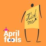 Illustration de vecteur de jour d'April Fools Illustration Libre de Droits
