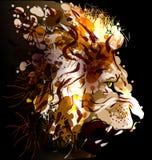 Illustration de vecteur de la tête d'un lion Illustration de vecteur illustration de vecteur