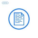 Illustration de vecteur de ligne plate icône Concept de construction graphique du codage de Web Images libres de droits
