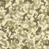 Modèle de camouflage illustration stock